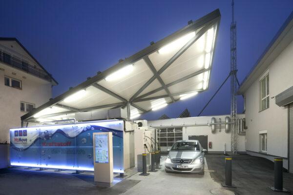 Infrastruktur für eine Wasserstoffwirtschaft: Tankstellen