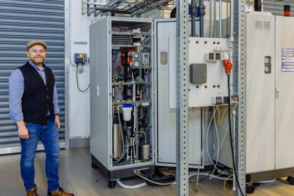 FH Bielefeld – Wasserstoff-Forschung mit neuen Studienansätzen
